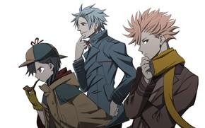 Картинка ID:Invaded, Miyo Hijiriido, Tamotsu Fukuda, Akihito Narihisago, Koharu Hondomachi