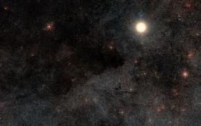 Картинка Nebula, Constellation Crux, C99, The Coalsack Nebula, Alpha Crucis