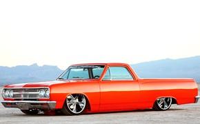 Картинка Chevrolet, Custom, El Camino, Low, Vehicle