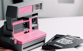 Картинка Pink, Camera, Mood, Polaroid