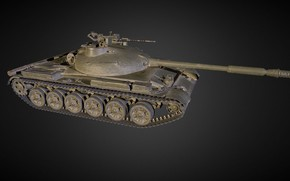 Картинка Россия, Объект 140, Опытный танк