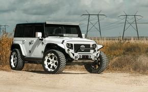 Обои Wrangler, Jeep, Forgiato, Jeep Wrangler Forgiato