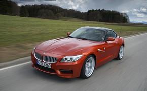 Картинка трава, деревья, BMW, родстер, 2013, E89, BMW Z4, Z4, sDrive35is