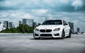 Картинка BMW, White, F13, Sight, LED