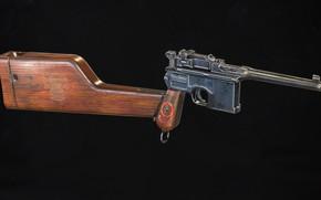 Картинка Германия, Mauser C96, Самозарядный пистолет, Red 9