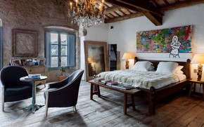 Картинка дизайн, стиль, комната, интерьер, спальня, by Ana Engelhorn Interior Design, Catalan Farmhouse