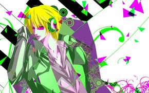 Картинка абстракция, стиль, парень, Durarara, Heiwajima Shizuo, Дюрарара, Шизуо Хейваджима