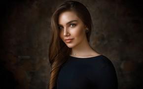 Картинка взгляд, девушка, модель, Настя, Михаил Герасимов, Mihail Gerasimov