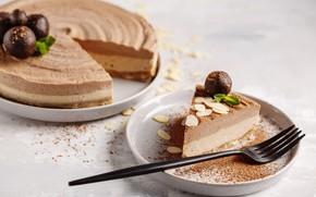 Картинка торт, орехи, крем