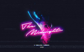 Картинка Electronic, Midnight, Synthpop, 2016, Retrowave, Synthwave, Synth pop, New Retro Wave, Endless summer, The Midnight