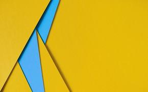 Картинка линии, синий, желтый, геометрия, background