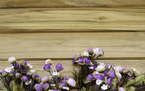 Картинка цветы, розы, wood, flowers, purple, roses
