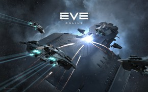 Картинка туманность, Космос, space, битва, космический корабль, eve online, battle, space ship, космоопера