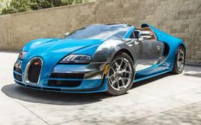 Картинка Bugatti, Veyron, 2013, Vitesse Meo, Bugatti Veyron 16.4 Grand Sport