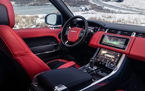 Картинка Range Rover, салон, Sport, 2019, HST