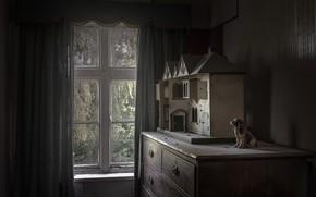 Картинка дом, комната, окно