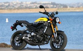 Картинка фон, мотоцикл, Yamaha, moto, Yamaha XSR900, городской мотоцикл
