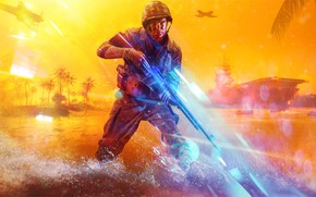 Картинка Battlefield, Electronic Arts, DICE, Battlefield 5, Battlefield V