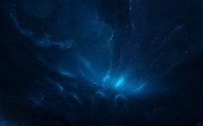 Картинка Звезды, Космос, Туманность, Fantasy, Арт, Stars, Space, Art, Фантастика, Nebula, Fiction, StarkitecktDesigns, by StarkitecktDesigns, Klyck …