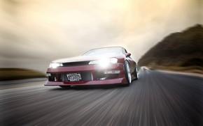 Картинка Nissan, Speed, Vehicle