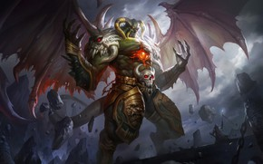Картинка дьявол, бес, Hua Lu