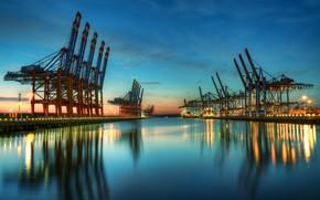 Картинка water, machinery, harbor modernity