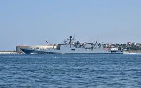 Картинка фрегат, Севастополь, Адмирал Эссен, Автор Erne