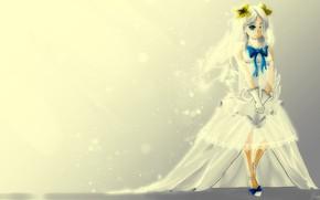 Картинка фон, платье, девочка