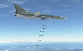 Картинка КБ Туполева, Ту-22М3, Стратегический бомбардировщик, Стратег