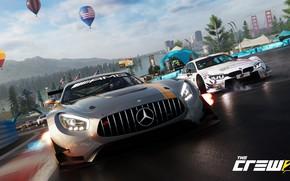 Обои Mercedes-Benz, game, AMG, Ubisoft, The Crew 2