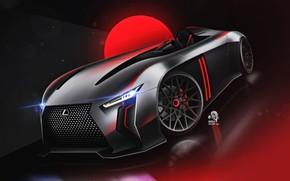 Картинка Concept, Авто, Lexus, Машина, Vision, Арт, Vehicles, Transport, Transport & Vehicles, by Andrew Zhilyaev, Andrew …