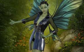 Картинка девушка, фентези, фея