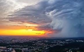 Картинка Lietuva, Vilnius, debesys