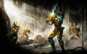 Картинка eldar, warrior, Warhammer 40 000, craftworld, Iyanden