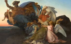 Картинка картина, религия, Александр Кабанель, Alexandre Cabanel, мифология, Смерть Моисея