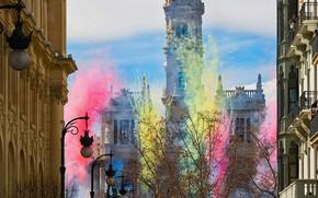 Картинка Испания, Валенсия, Фальяс
