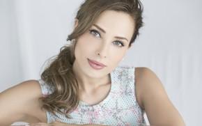 Картинка взгляд, девушка, лицо, Iulia Vantur