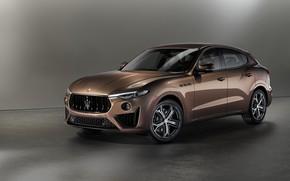 Картинка Maserati, кроссовер, Levante, Q4, 2019, GranSport, Levante S, Zegna Pelletessuta