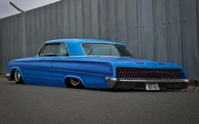 Картинка Chevrolet, Blue, Impala, Lowrider