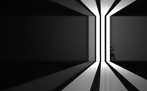 Картинка свет, комната, тень, окно, light, window, room, shadow, Ahmad Kaddourah