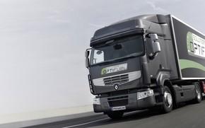 Картинка грузовик, Renault, седельный тягач, 4x2, полуприцеп, Premium Route, Renault Trucks