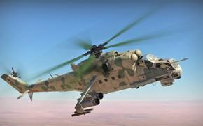 Картинка War Thunder, Ми-24П, КБ Миль
