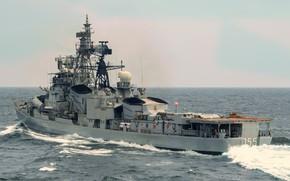 Картинка эсминец, проект 61мэ, Ранвиджай, вмс Индии