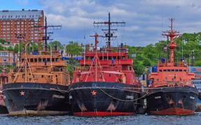 Картинка корабли, причал, спасатели