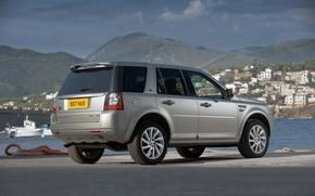 Картинка причал, Land Rover, 2011, кроссовер, Freelander, SUV, HSE, Freelander 2, LR2, TD4