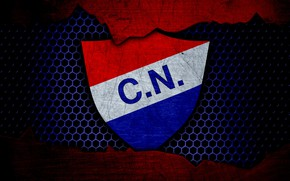 Картинка wallpaper, sport, logo, football, Nacional Asuncion