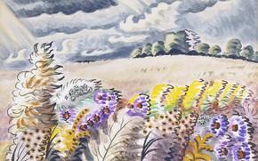 Картинка 1955, Charles Ephraim Burchfield, September Wind
