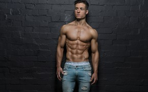 Картинка power, muscles, pose, abs
