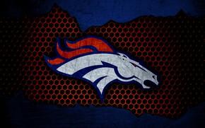 Картинка wallpaper, sport, logo, NFL, american football, Denver Broncos