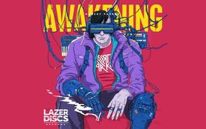Картинка Music, Electronic, Awakening, Synthwave, New Retro Wave, RetroWave, EP's, Robert Parker
